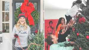 Celebrities Ready for the Holidays [Video]