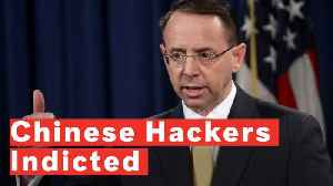 DOJ Announces Criminal Indictment Against Chinese Hackers In Data Breach [Video]