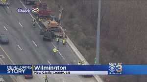 Serious Multi-Vehicle Crash On I-95 In Wilmington Causing Traffic Delays [Video]