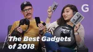 The 24 Best Gadgets of 2018 | Gizmodo [Video]