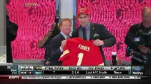 Eric Fisher earns pro bowl nod [Video]