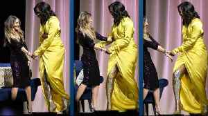 Michelle Obama Stuns in Thigh-High Glitter Boots! [Video]
