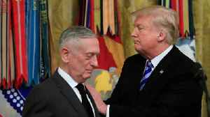 This Isn't The First Time Defense of Secretary Jim Mattis Clashes With Trump [Video]