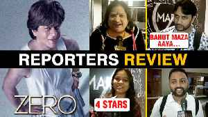 ZERO Movie Reporters REVIEW | Shah Rukh Khan, Katrina Kaif, Anushka Sharma | Zero Movie Review [Video]