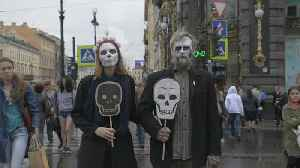 Meet Russia's 'Party of the Dead' free-speech activists | NBC Left Field [Video]