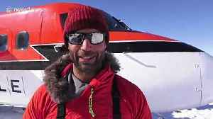 Record-setting Brit skier gives final interview before setting off alone to South Pole [Video]