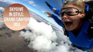 Jump spots made for Instagram: Grand Canyon [Video]