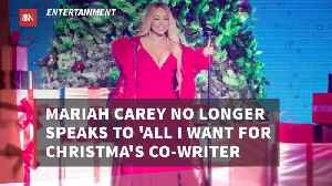 Mariah Carey Has Nothing To Do With 'All I Want For Christmas' Writer [Video]