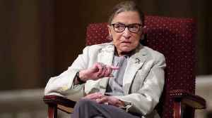 News video: Justice Ruth Bader Ginsburg recovering from lung surgery