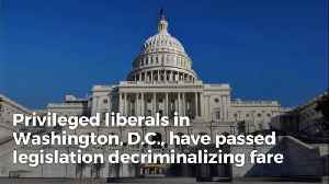 DC Liberals Move To Decriminalize Turnstile-jumping. Ignore Decades Of Crime Prevention Research [Video]