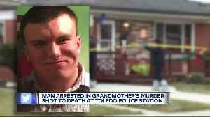 Man arrested in his grandmother's murder shot to death in Toledo police station [Video]