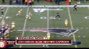 Former Browns WR Josh Gordon stepping away from football amid reports of suspension [Video]