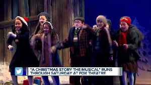 """A Christmas Story the Musical"" runs through Saturday at the Fox Theatre [Video]"