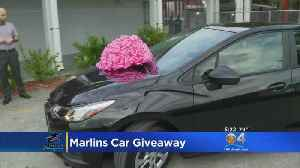 Marlins Give Beloved Local Mentor Amazing Holiday Gift: A Brand New Car [Video]