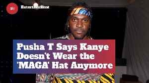 Apparently Kanye Is Done With His MAGA Hat [Video]