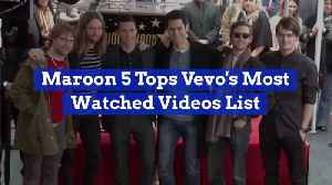 Maroon 5 Videos Are Very Popular [Video]