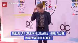 Macaulay Culkin Recreates Home Alone [Video]