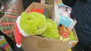 Aspinwall Police Deliver Toys To Children's Hospital [Video]