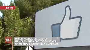 Washington Attorney General Sues Facebook [Video]