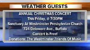 Westminster Presbyterian Church choir sings on the Weather Outside [Video]