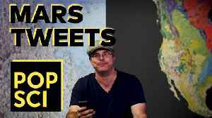 Science Tweets! Andy Weir (Mars Edition) [Video]