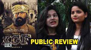 'K.G.F: Chapter 1' PUBLIC REVIEW | Yash steals the show [Video]