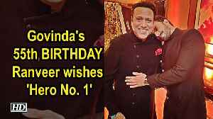 Govinda's 55th BIRTHDAY, Ranveer shares pic with 'Hero No. 1' [Video]