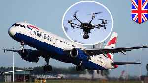 Holiday chaos as rogue drones shut down Gatwick Airport [Video]