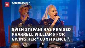 Gwen Stefani Credits Pharrell Williams For Her Confidence [Video]