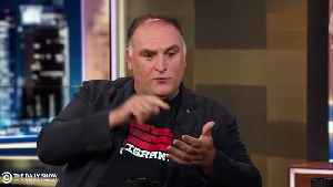Anti-Trump Chef José Andrés Offers Free Sandwiches To Government Employees During Shutdown [Video]