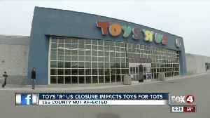 "No Toys ""R"" Us, No problem, Lee County Toys for Tots racks in thousands of toys [Video]"