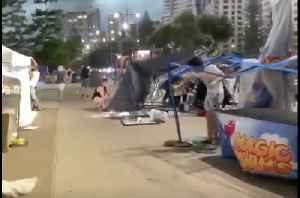 Huge Storm Whips Australia's Gold Coast With Destructive Gusts [Video]