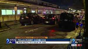 32-year-old man killed after being shot inside Fells Point bar [Video]