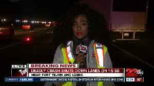 Deadly crash temporarily shuts down multiple lanes on I-5 S [Video]