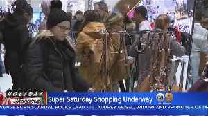 Shoppers Expected To Flock To Stores For Super Saturday Sales [Video]