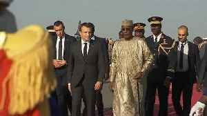 Macron takes his chef & celebrities to entertain the troops in Chad [Video]