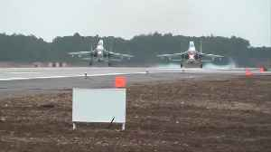 Russian fighter jets land in Crimea amid Ukraine tensions [Video]
