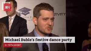 Michael Buble Is Having A Christmas Dance Party [Video]