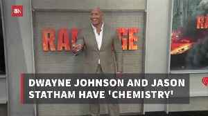 Dwayne Johnson Has A Special Movie Relationship With Jason Statham [Video]