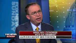 Mick Mulvaney Says 'Very Possible' Shutdown Will Continue Into The New Year [Video]