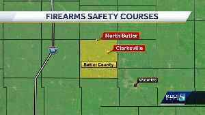 Video on firearm safety courses in Iowa [Video]