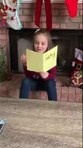 6-Year-Old Finds Out She Will Be a Big Sister [Video]