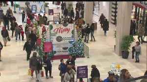 Last Minute Holiday Shoppers Hit The Mall Saturday [Video]