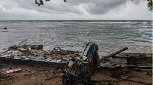News video: Death Toll From Tsunami In Indonesia Reaches 222