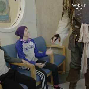 These children at BC Children's Hospital got a visit from Jack Sparrow himself [Video]