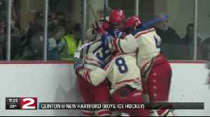 A local rivalry in boys ice hockey ends in a tie [Video]