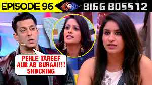 Salman Khan SHOCKED To See Surbhi Rana's Changed Behaviour | Weekend Ka Vaar | Bigg Boss 12 [Video]