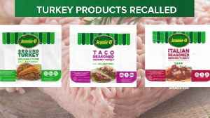 Jennie-O turkey products recalled again due to salmonella concerns [Video]