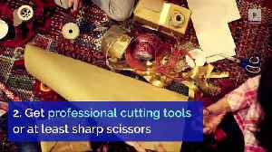 5 Tips for Wrapping Christmas Presents [Video]
