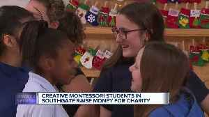 Creative Montessori students in Southgate raise money for charity [Video]